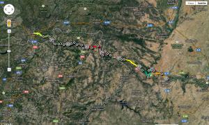 Etapas de Zamora a Verín: 213km